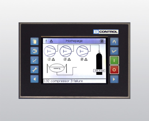 B-CONTROL II operator display
